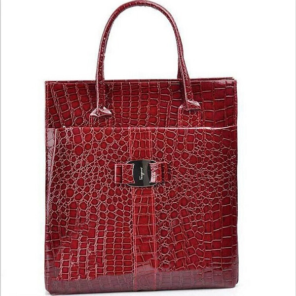 2016 the new Fake Crocodile women shoulder bag Retro Pack women handbag PU leather bags high quality tote bags gift for women(China (Mainland))