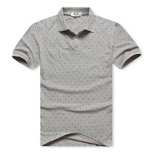 Free shipping 2016 men's clothing super large 7xl 8xl 100% cotton polka dot turn-down collar plus size king short-sleeve shirt