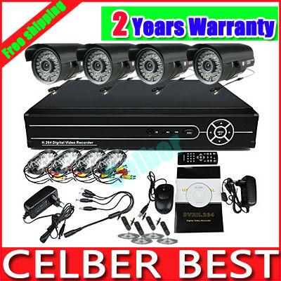 Система видеонаблюдения 4/h.264 DVR