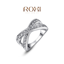 Roxi Fashion Royal Women s Jewelry High Quality Classic Elegant Ring Rose Gold Plated Top Rich