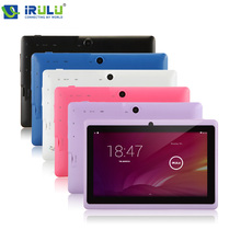 iRulu eXpro x1 Q8 7 inch Android 4.2.2 Tablet PC Allwinner A23 Dual Core 3G Pad 1.5GHz Wifi 8GB/16GB+512MB Dual Cameras 2 Colour