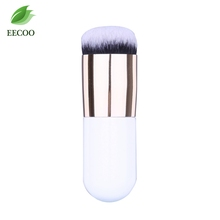 Buy 1 pcs Beauty Makeup Brush Oval Foundation Powder Blush Contour BB Cream Makeup Brushes Short Cosmetic Tool for $1.85 in AliExpress store