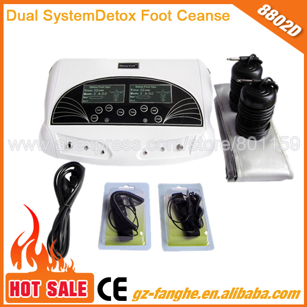 Salable Foot care pedicure foot spa detox/dual detoxification ion cleanse machine(China (Mainland))