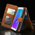 1pcs CaseMe Retro Wallet Case For note 5 Luxury Book Style Phone Case For samsung galaxy