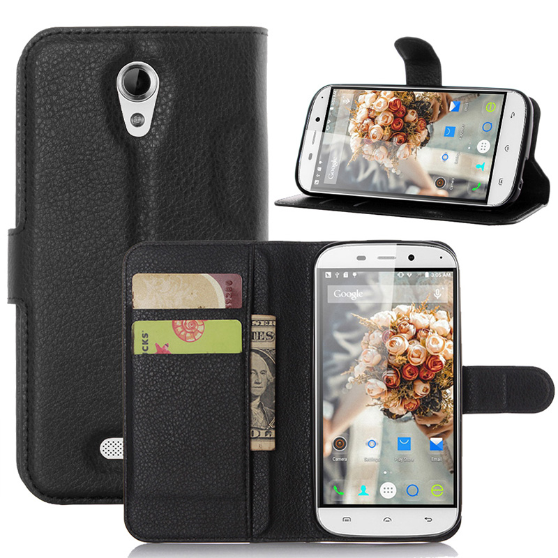 Luxury PU Leather Case For Doogee NOVA Y100X Case Cover For Doogee NOVA Y100X Flip Protective Cell Phone Shell Back Cover Skin(China (Mainland))