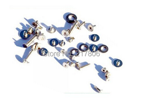 10pcs/lot Full Complete Replacement Screw Set for Iphone 4G(China (Mainland))