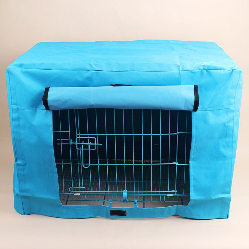 New Arrival Dog Fences cover warm pet dog houses pet house bed cover fenced dog kennel Waterproof and rainproof dog cage cover(China (Mainland))