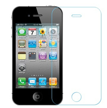 0.3mm HD ecran protecteur clear toughened protective film 2.5D tempered glass protector screen for iphone 4 4s iphon