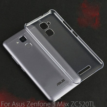 10.Ultra Clear Crystal Transparent PC Hard Back Case Cover Shell Asus Zenfone 3 Max ZC520TL, DHL - Taoplayer online store