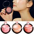 Pro Fashion Beauty Makeup Cosmetic Blush Blusher Powder Palette Glossy Shading Blusher