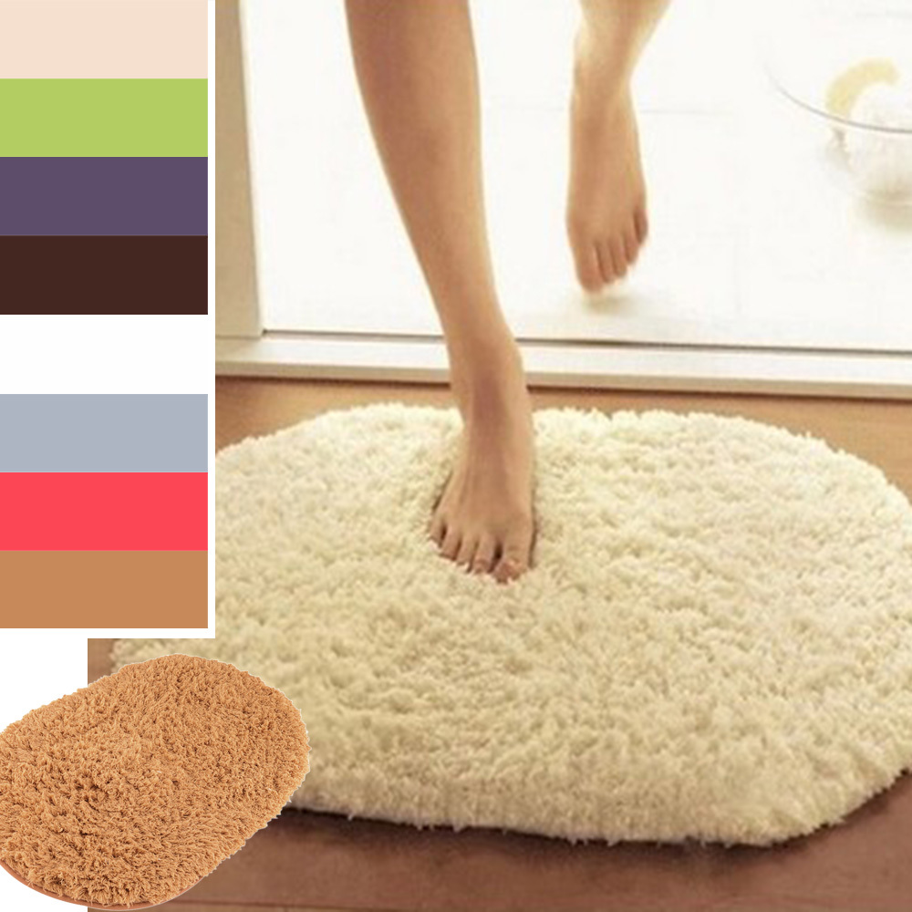 Non Slip Plush Memory Velvet Slip Mats Dust Doormat Absorbent Bathroom Floor Rug Washable Bath Mat Bathroom Floor Rugs(China (Mainland))