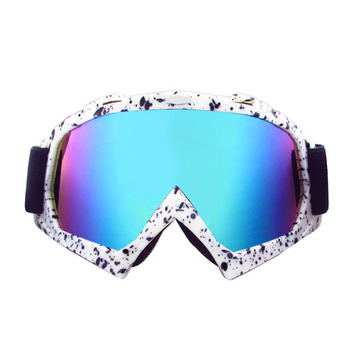 Новый открытый ветрозащитные очки лыжные очки пылезащитной снег очки мужчины мотокросс борьбы с беспорядками очки горные 634E