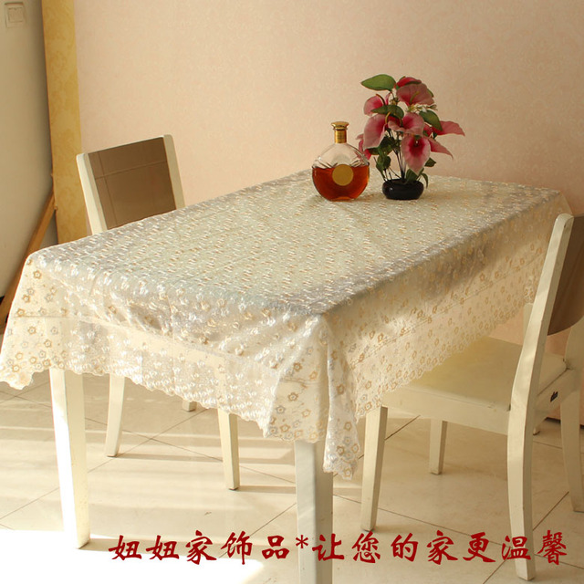 Quality two-color table cloth