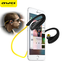 AWEI A880BL Sport Wireless Headphone Bluetooth Headset For Xiaomi Sony iPhone Earphone With Microphone Running Earpiece(China (Mainland))