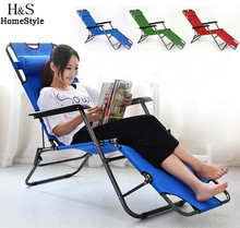 Outdoor furniture 153cm/178cm deck chair longer leisure folding beach chair stool sling recliner camping lounge chairs bed(China (Mainland))