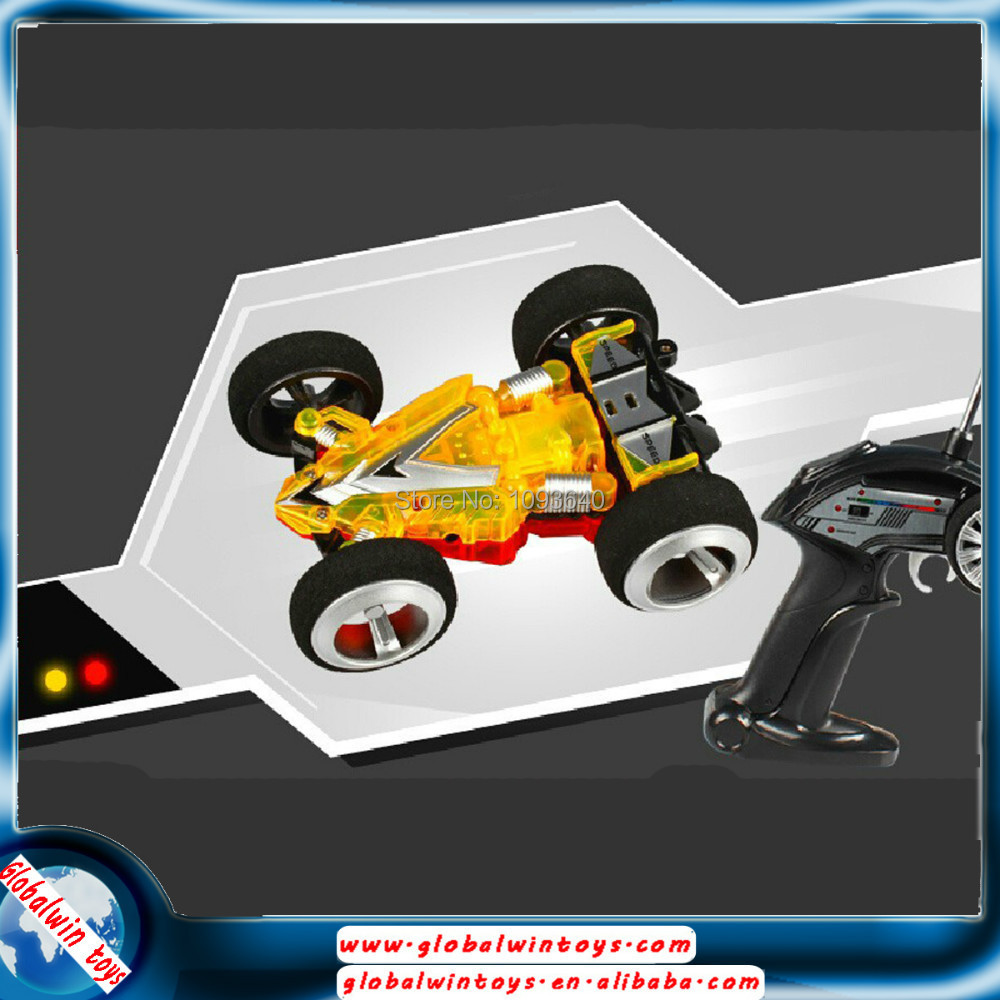 2014 Newest WLtoys WL 2308 Double-sided Speed Car Mini Electric Remote Control RC Toy Cars 3D High Speed RC Stunt Car Toys<br>