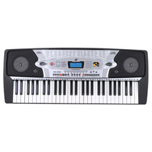 Multifunction 54 Keys Electronic Organ LCD Display Teaching-Type Electronic Keyboard Piano with Music Stand & Microphone(China (Mainland))