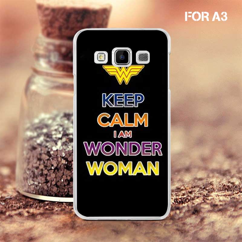 We All Need Keep Clam Good Deals Brand Marketing Plastic Cell Phone Shell Cases for Samsung A3(China (Mainland))
