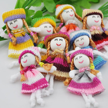 20x DIY handicrafts pattern dress girl small doll craft/appliques/accessorie B137(China (Mainland))