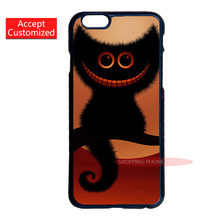 Cheshire Cat Alice In Wonderland Hard Plastic Cover Case for Samsung Galaxy Note 2 3 4 5 S2 S3 S4 S5 Mini S6 S7 Edge Plus(China (Mainland))