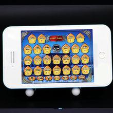 Arabe 24 chapitre Al coran duas islamique téléphone jouets coran musulman enfants apprentissage jouets jouet éducatif islamique téléphone pour enfants(China (Mainland))