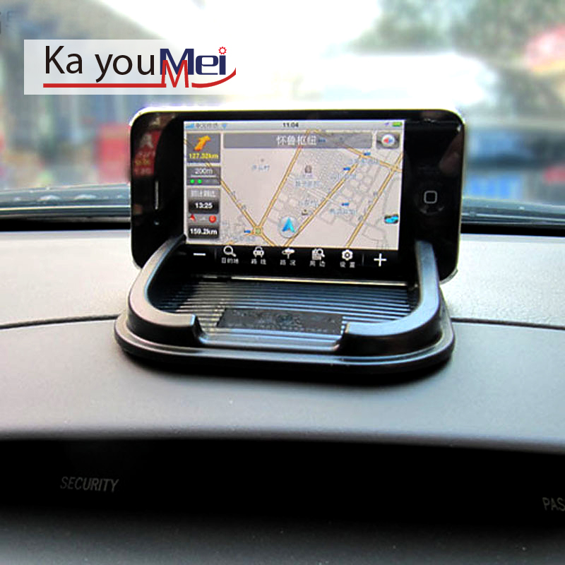 car accessories interior anti-slip mat For Iphone auto anti skid non slip pad for gps pda cellphone automobile anti-skid pad(China (Mainland))