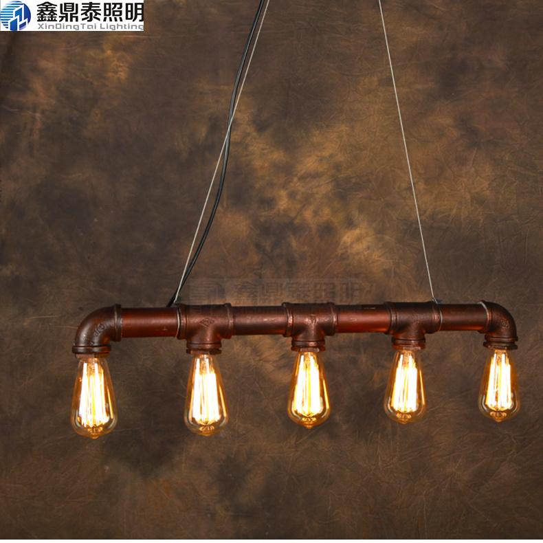 Buy loft american style personality vintage pendant light for A t design decoration co ltd