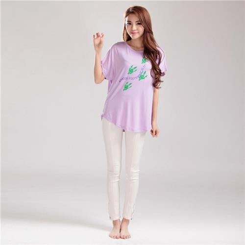 MOERAE Leisure Ladies Casual Shirts Best Quality Bamboo T Shirt Short Sleeve Comfortable Womens Summer Clothing 15-71(China (Mainland))