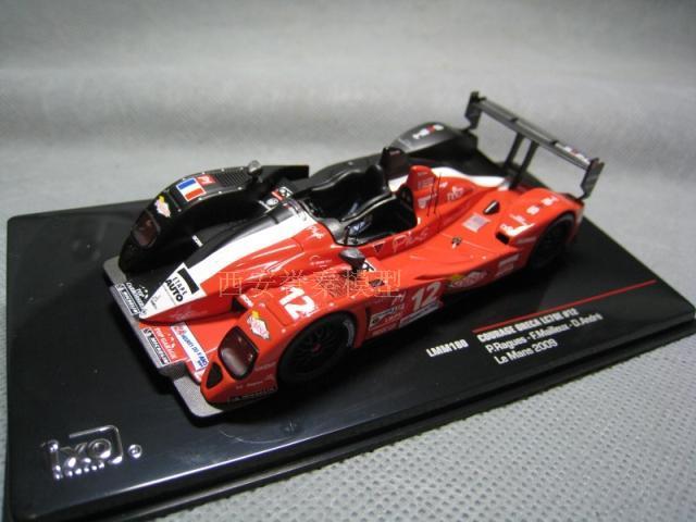1/43 COURAGE ORECA LC70E IXO Roman endurance race 2009 alloy car model(China (Mainland))