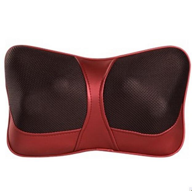 Double Massage Device Neck Massage Pillow Massage Car Massage Cushion Headrest With EU/AU/US Plug<br><br>Aliexpress