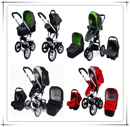 After Folding can be Dragged,3 in 1 Pram,3 in 1 Very Practical Baby Stroller,Red Color,Green Color Black Color,Infant Bassinet<br><br>Aliexpress
