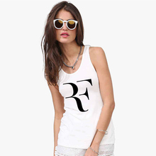 Top Quality Roger Federer Female Tank Tops Camisole Sleeveless Shirts Round Neck Women Sports Vests Discounts(China (Mainland))