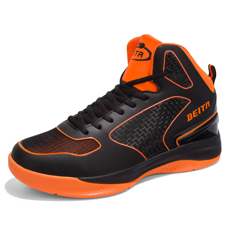 2016 new style basketball shoes slip on handy black