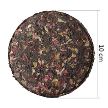 2014 Rose tea leaves / Rose Yunnan Pu'er tea cakes cooked tea cake 100g / piece