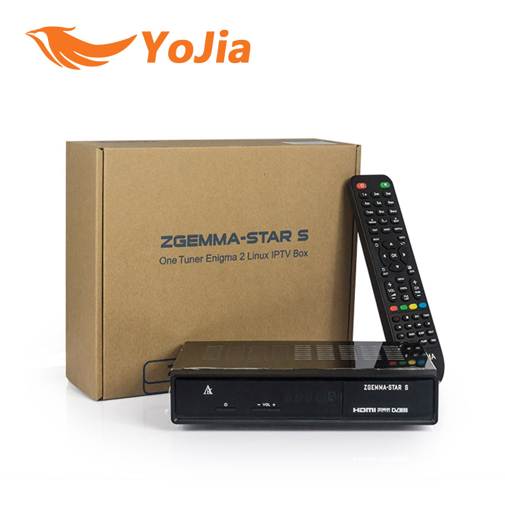 Genuine Free shiping 5pcs Zgemma-star S Zgemma Star S Satellite Receiver with DVB-S2 Tuner  Enigma 2 Linux Operate System<br><br>Aliexpress