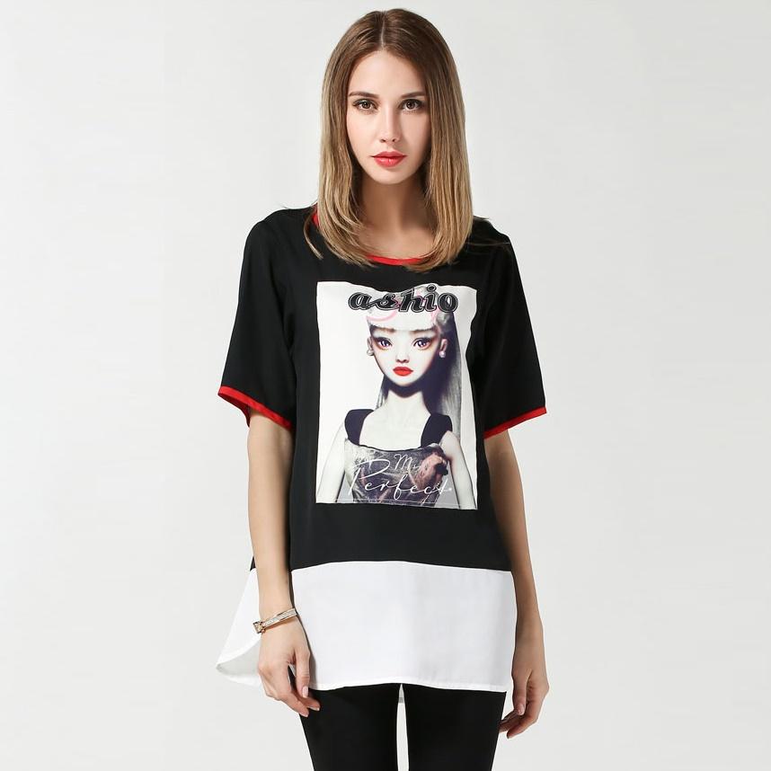 Women'S Plus Size Short Sleeve Blouses 62