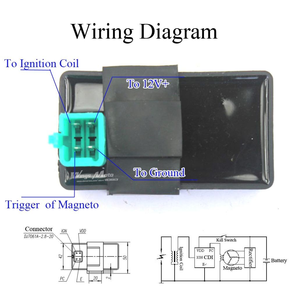 83F 4 Pin Cdi Box Wiring Diagram | Wiring ResourcesWiring Resources