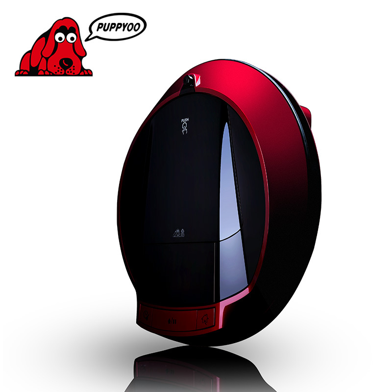 Multifunction Robot Vacuum for Home Cleaner Self-Charge , sweep suction ,LED Touch Screen ,Two Side Brushes, V-M900R PUPPYOO()