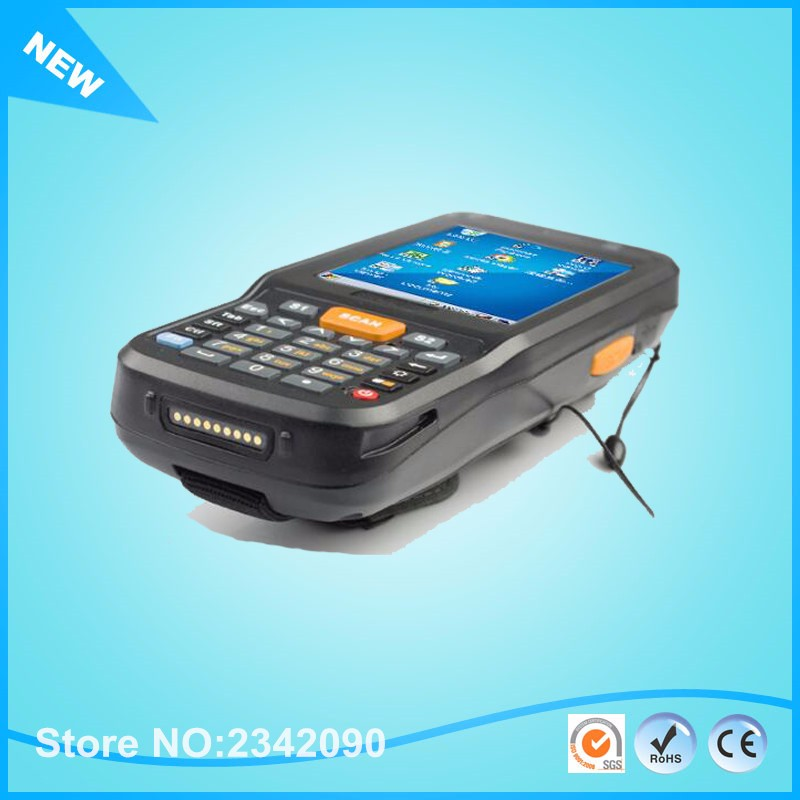 Windows CE OS. Quad Core Mobile Data Terminal For 2D Barcode Scanner with wifi,bluetooth Industry-level Handheld Terminal 4