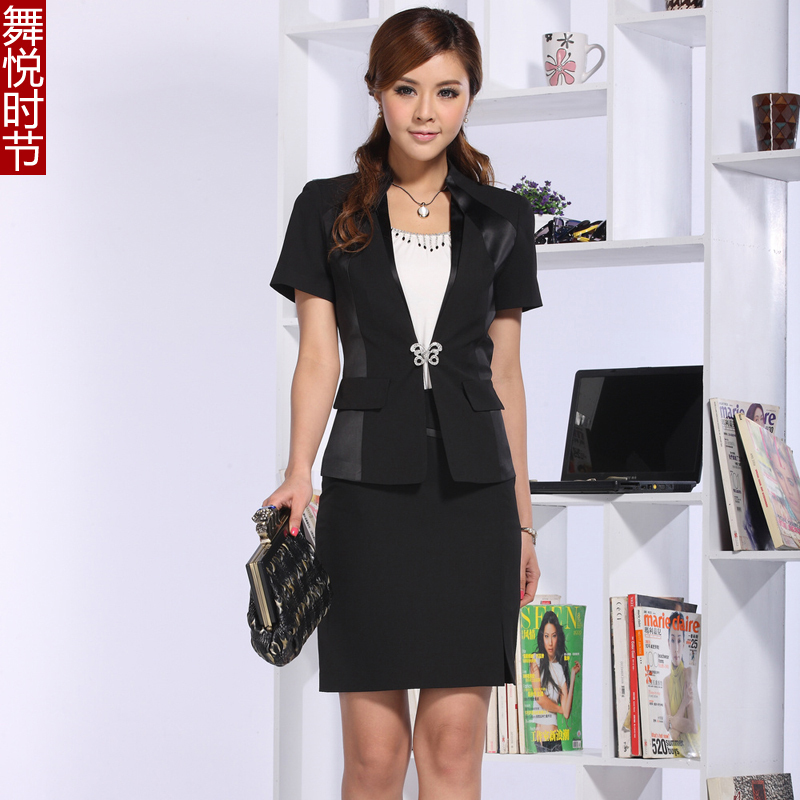 2013 women work suits 2013 summer clothing ol work wear
