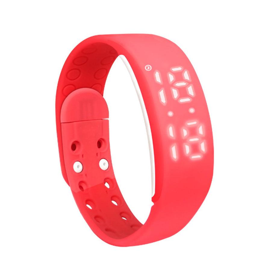 W2 LED Digital Sports USB WristWatch Silicone Band W2 Smart Wristband Smart Bracelet 3D Pedometer(China (Mainland))
