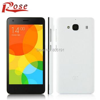 """Оригинал Xiaomi редми 2 телефон 2 ГБ RAM 16 ГБ ROM красный рис 2 4 г LTE Dual SIM MSM8916 четырехъядерных процессоров 4.7 """" HD IPS 8мп MIUI 6"""