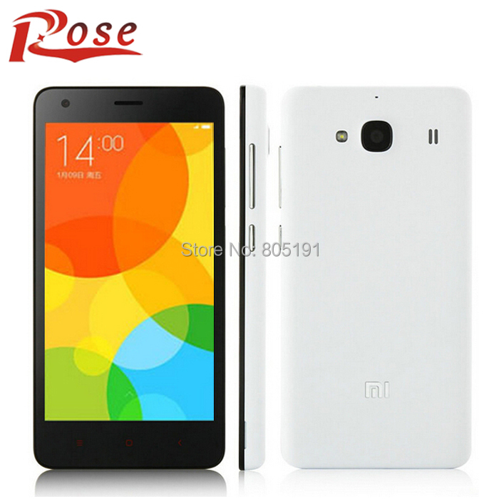 "Original Xiaomi Redmi 2 phone 2GB RAM 16GB ROM Red Rice 2 4G LTE Dual SIM MSM8916 Quad Core 4.7"" HD IPS 8MP MIUI 6(China (Mainland))"