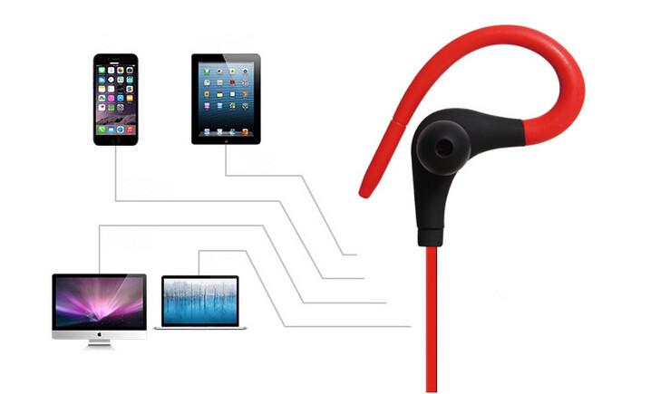 yeni spor kablosuz bluetooth 4 0 kulakl k mikrofon ile. Black Bedroom Furniture Sets. Home Design Ideas