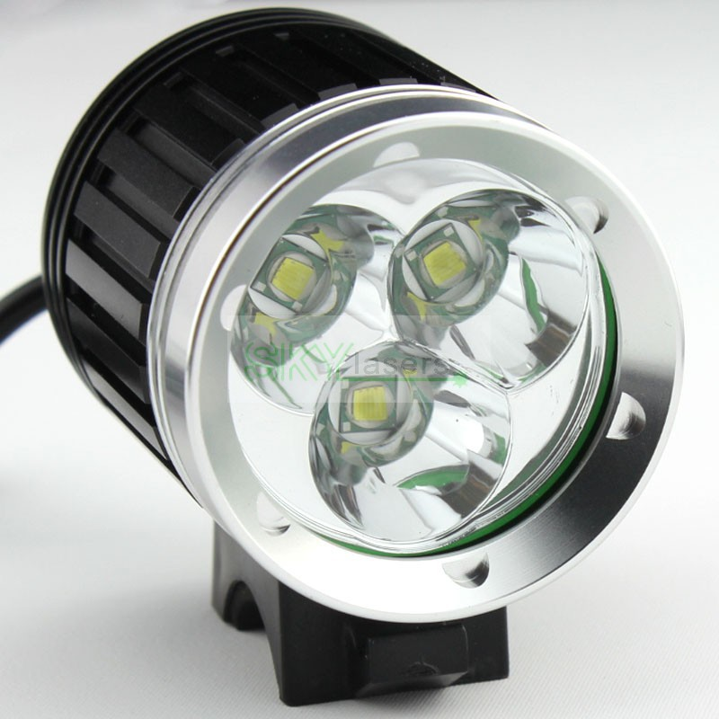 buy 4000 lumens 3x cree xm l t6 led headlight 3t6 headlamp bicycle bike light. Black Bedroom Furniture Sets. Home Design Ideas