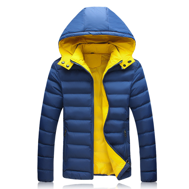 Winter Mens Clothes Fashion 2015 New Arrival Hooded Coat Men Plus Size Slim Fit Casual Sport