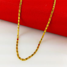 Retail/Wholesale New Arrival High quality Classic Jewelry Vacuum Plating 24K Gold chain Necklace,Women necklace, B011-1(China (Mainland))