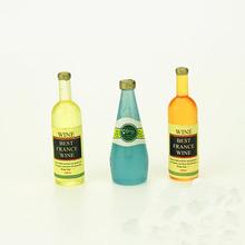 3PCS Bottles Of Wine Carbonation Kitchen Dollhouse Accessories Furniture 1:12 Miniature
