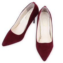 Women High Heel Shoes Girls Shallow Mouth Party Wedding Shoes Ladies Pumps Sexy Red Bottom Pointed Toe Thin High-Heels Shoes(China (Mainland))