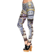 Buy New Arrival 1528 Sexy Girl WOW Horde VS Alliance honor armour Printed Elastic Fitness Polyester Workout Women Leggings Pants for $8.74 in AliExpress store